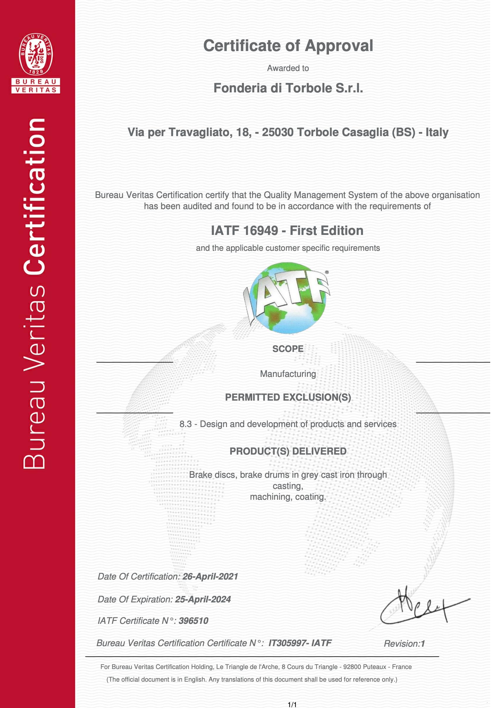 Certificato qualita_iso ts 1649